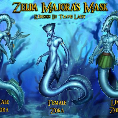 Zelda zoras redesign travis lacey web2
