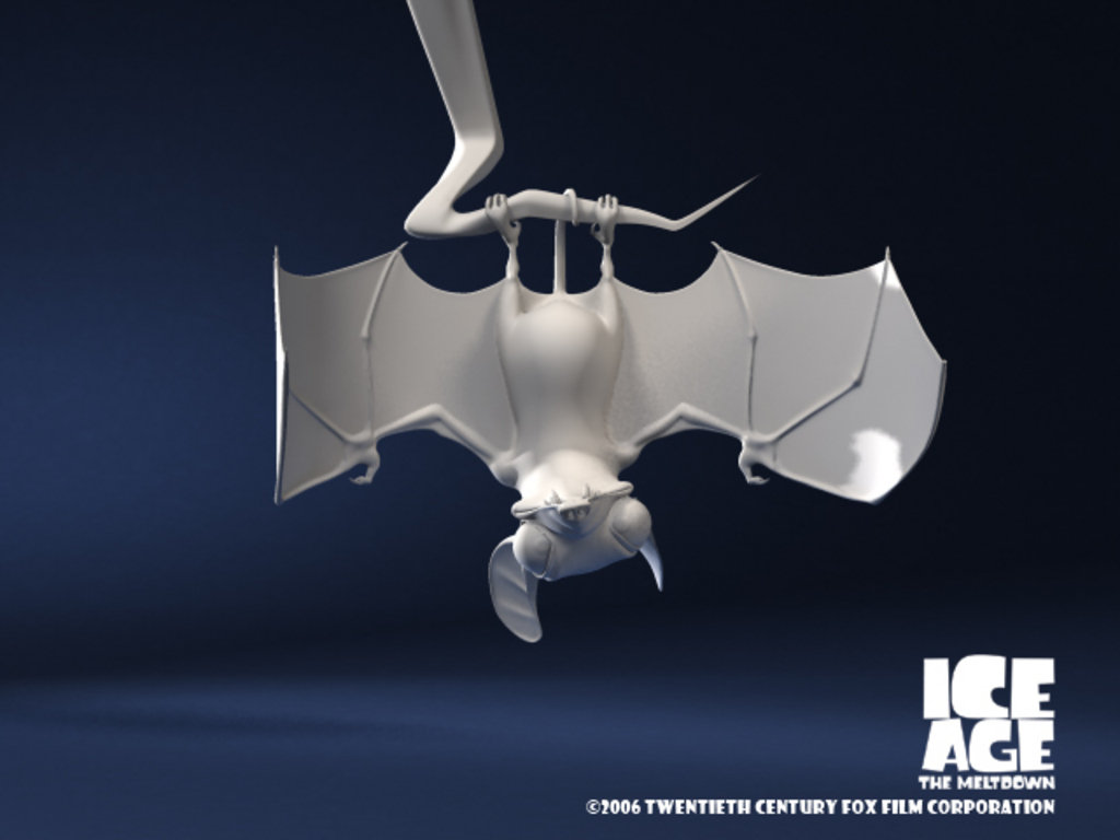 Ice Age The Meltdown: Bat (unused)