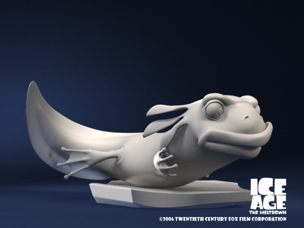 Ice Age The Meltdown (Salamander unused)