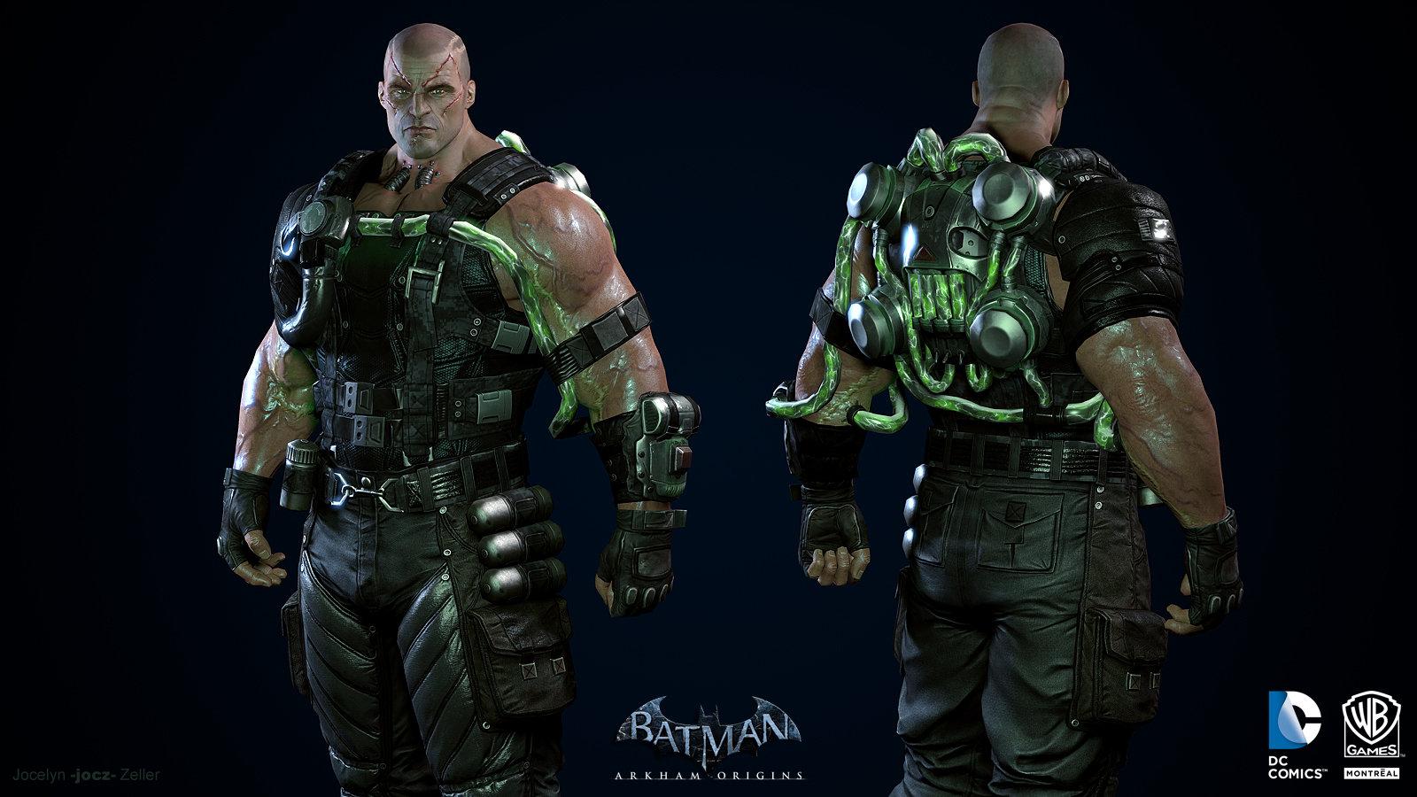 bane batman arkham origins wallpaper
