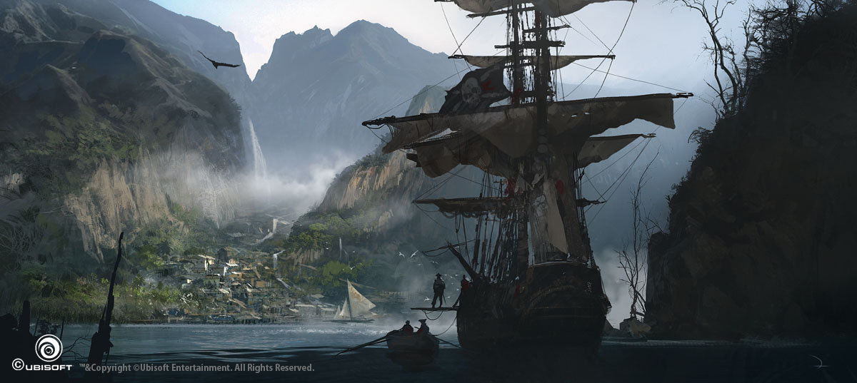 Artstation Assassin S Creed Iv Black Flag Concept Art Martin Deschambault