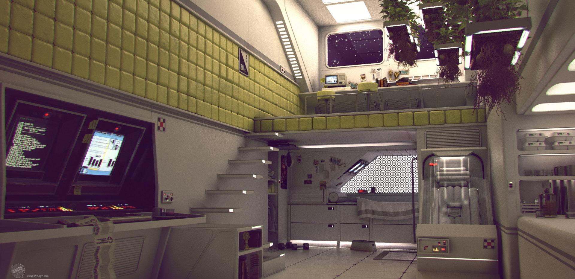 Devon fay retro space 01