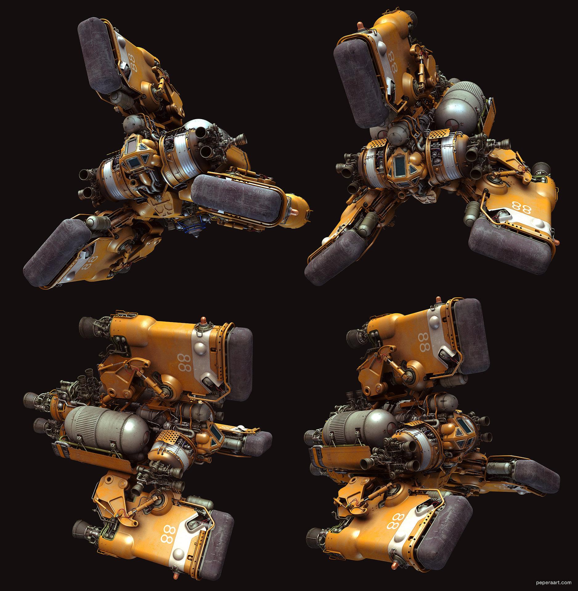 Tug space assemble gab