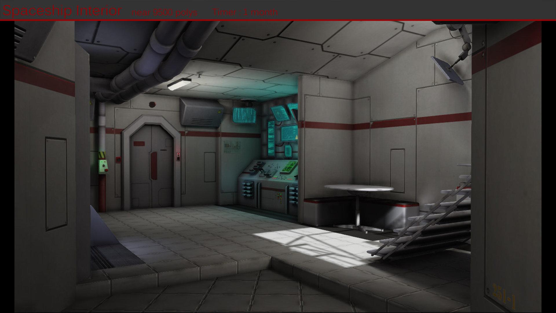 Artstation Spaceship Interior 03 Lo 239 C Poincelet