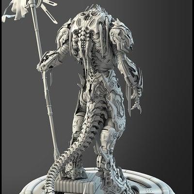 Greyscale render back