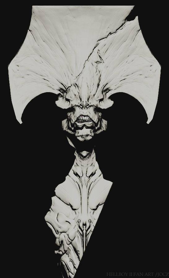 Hellboy2 demon full var01