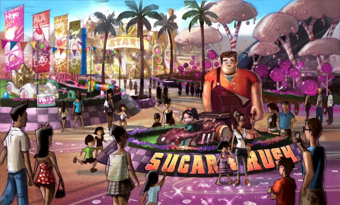 Concept Art Wreck It Ralph Sugar Rush
