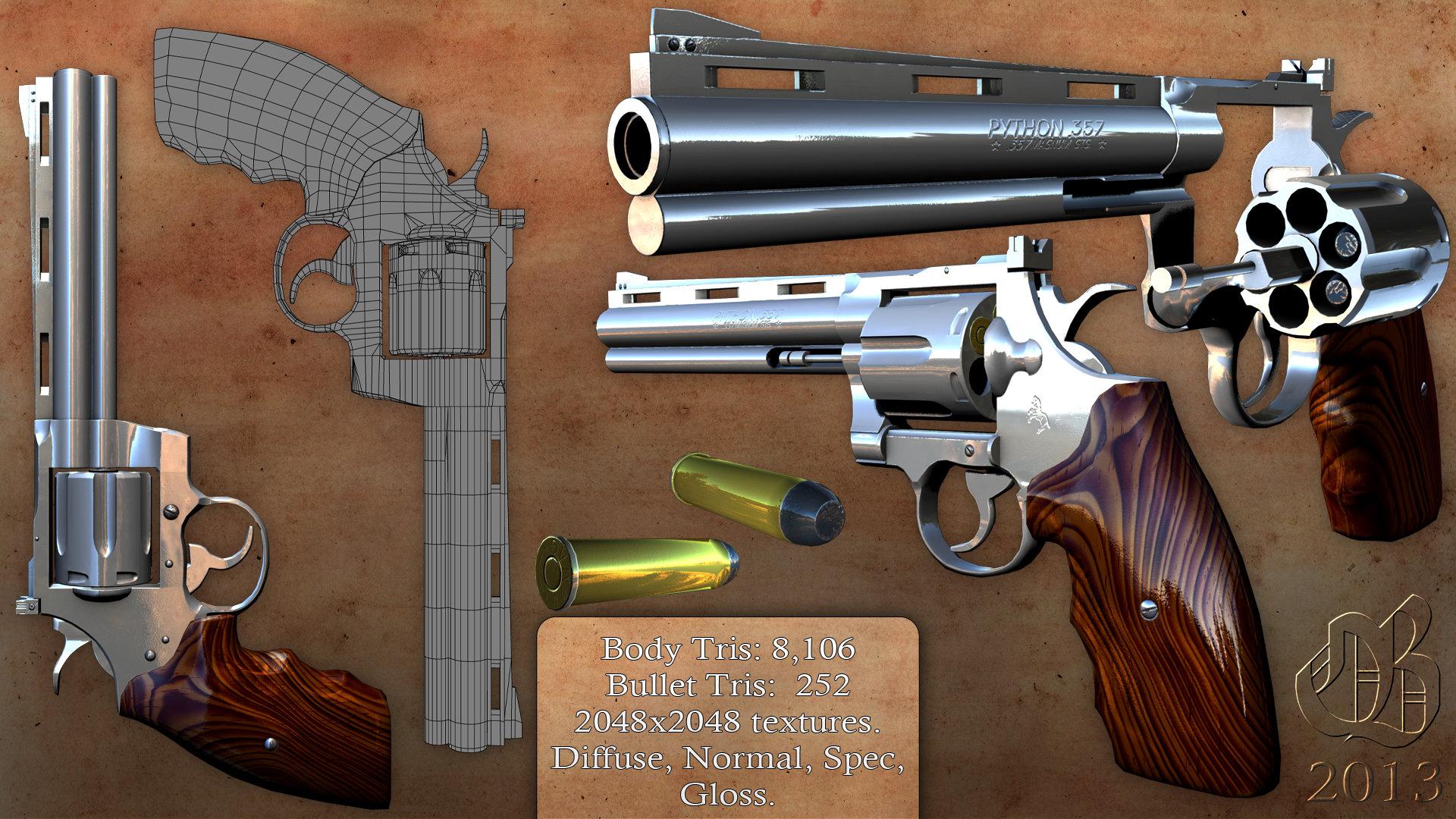 Revolver folio