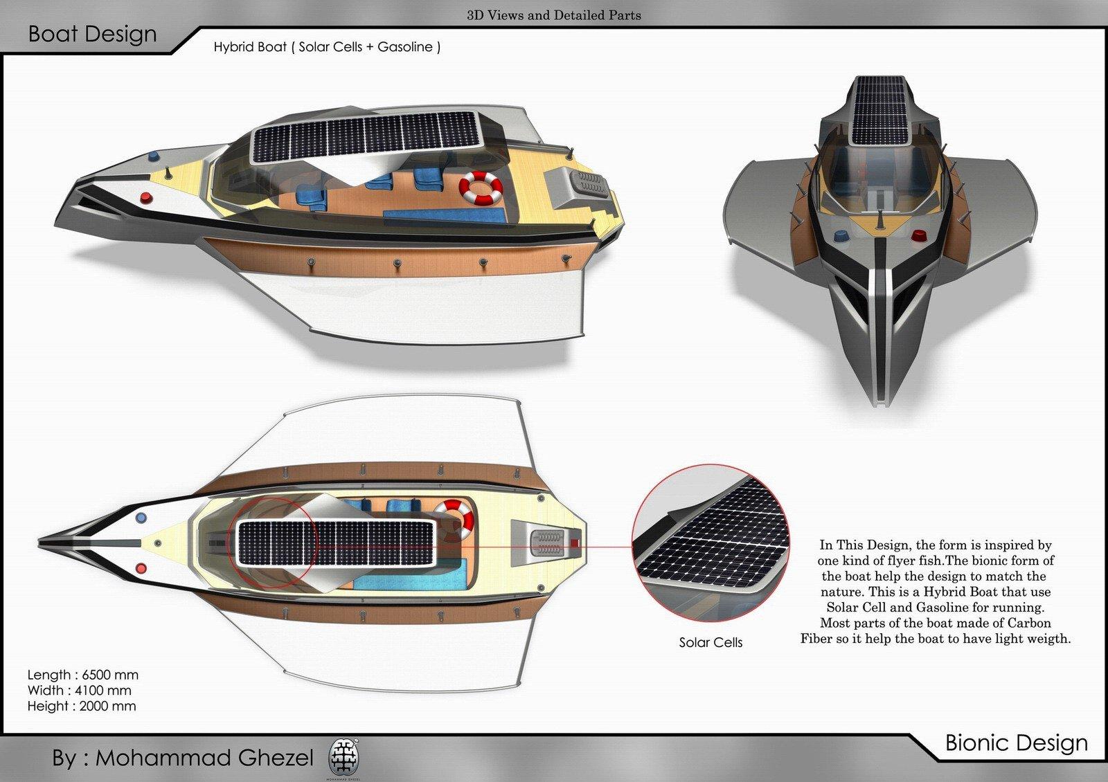 Boat design 3