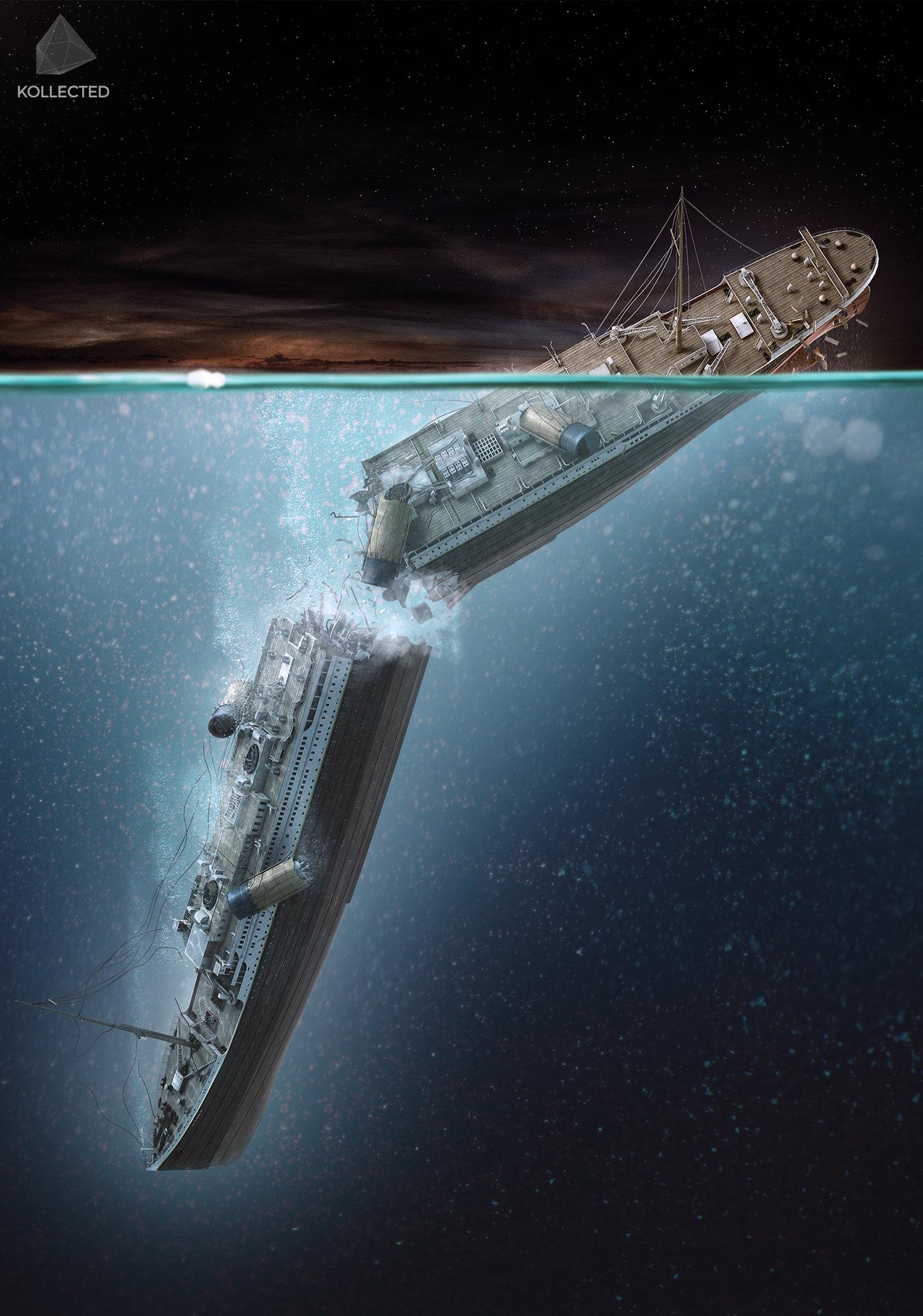 ArtStation - Titanic 100, Nick Kaloterakis