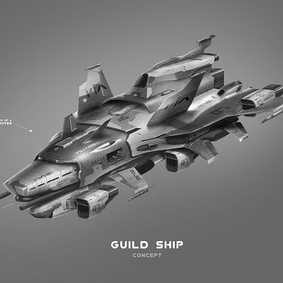 Guildship concept