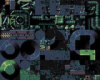 Fleet 4 Tile sheet 1 (.LBM Amiga res)