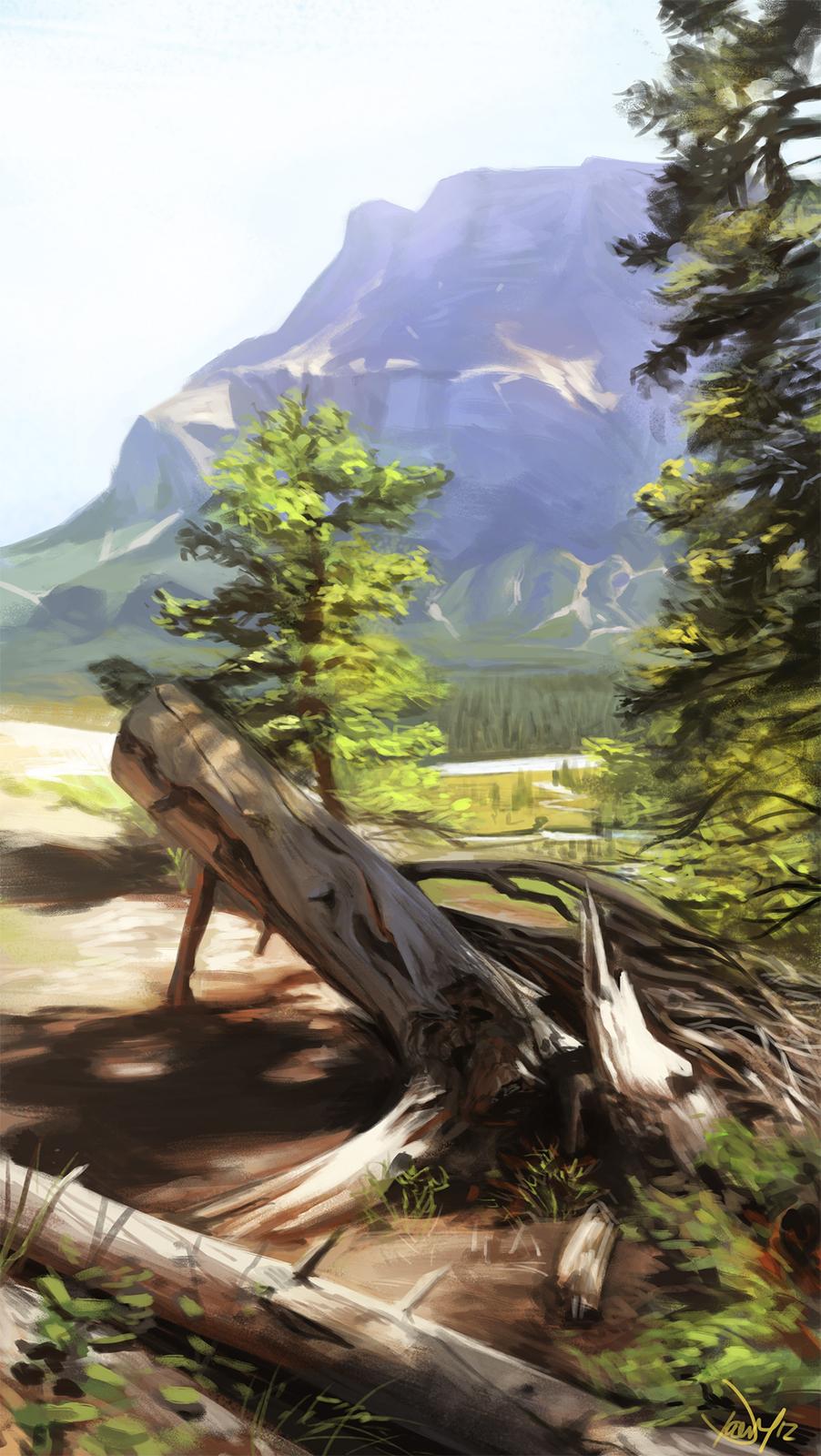 Banff Landscape Study