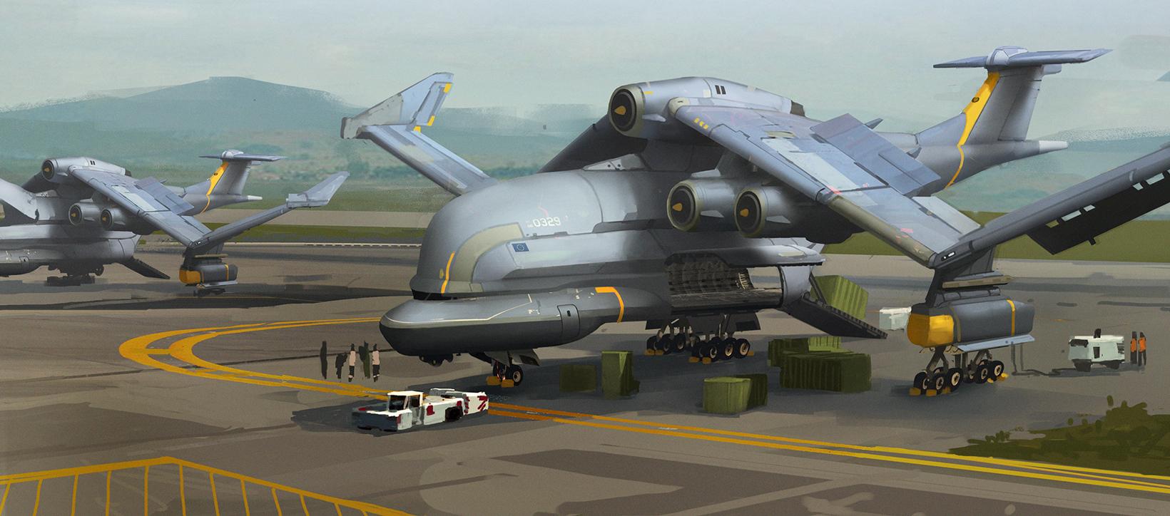 Aircraft cargo04 73 o