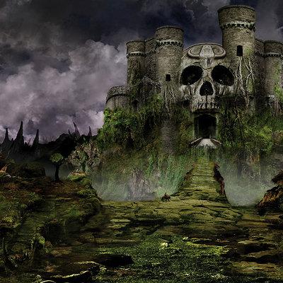 Castle grayskull large classic head