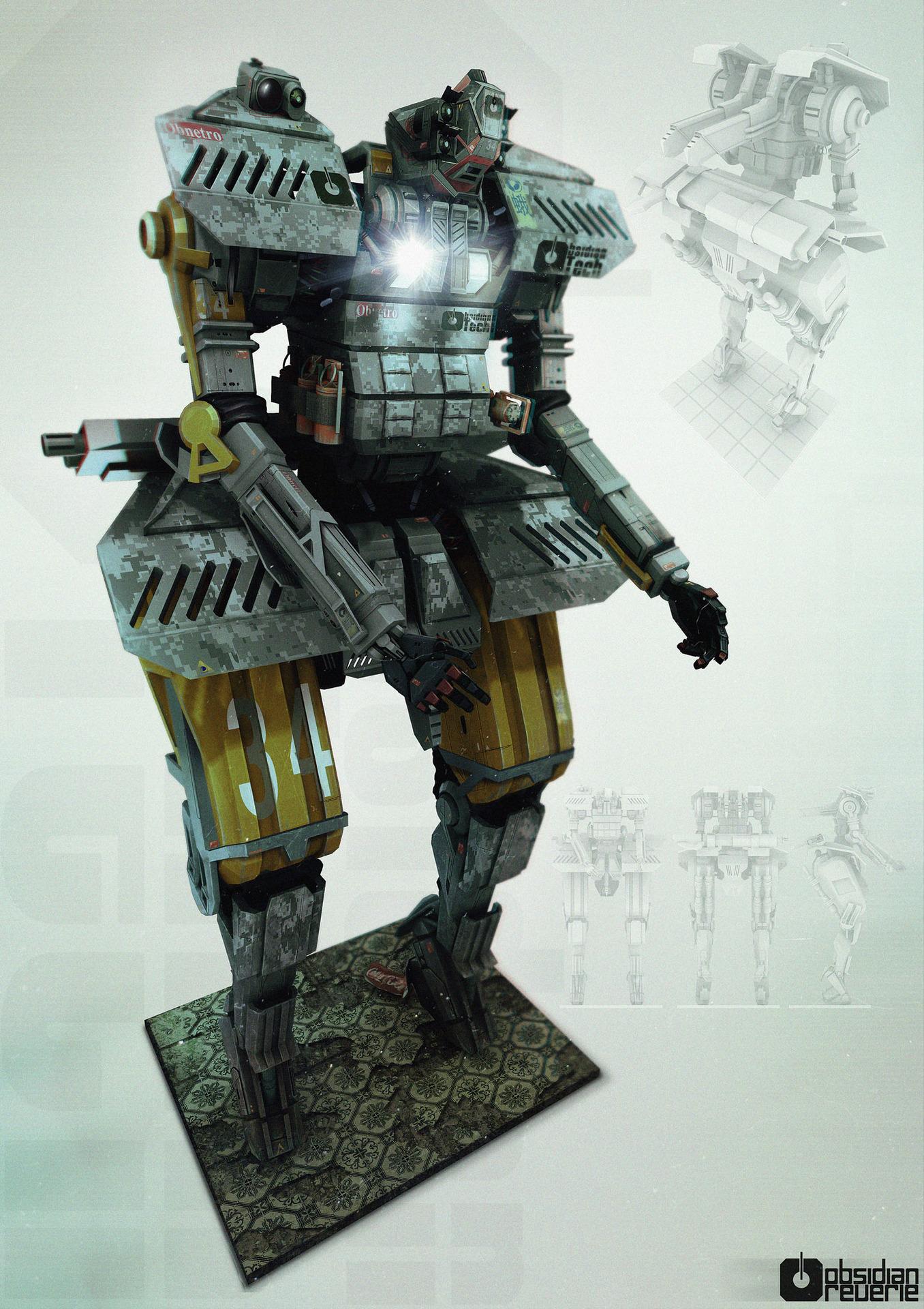 Obsidi tech robotic prototype
