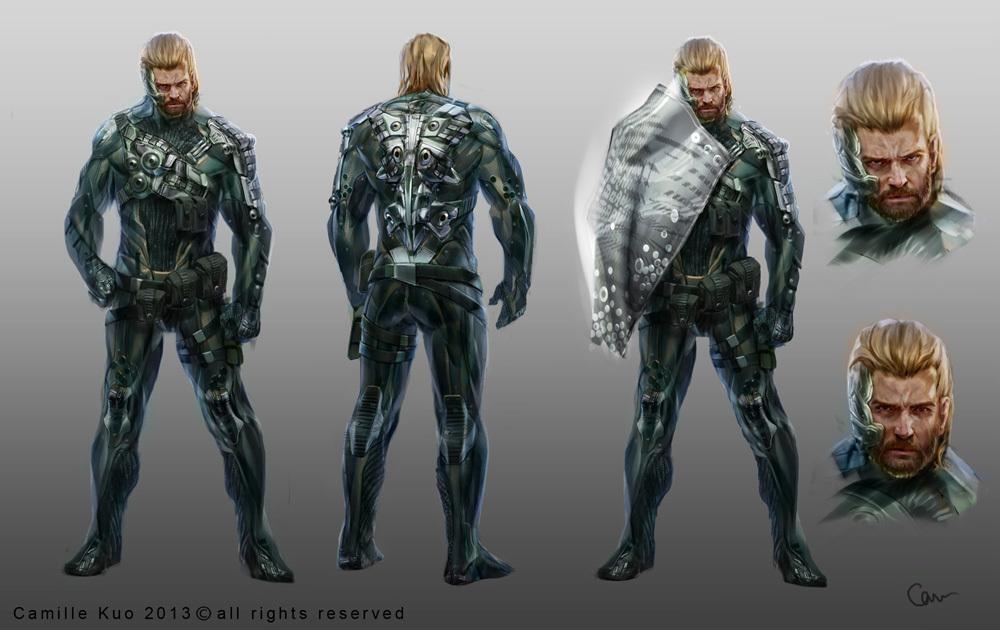 Hero character concept finals