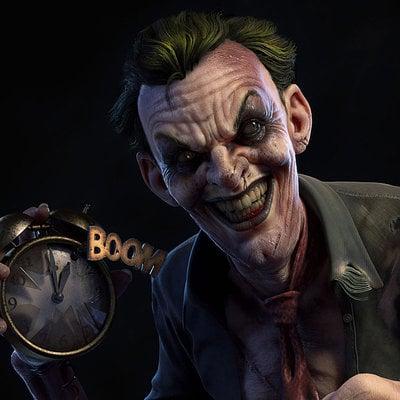 Joker close