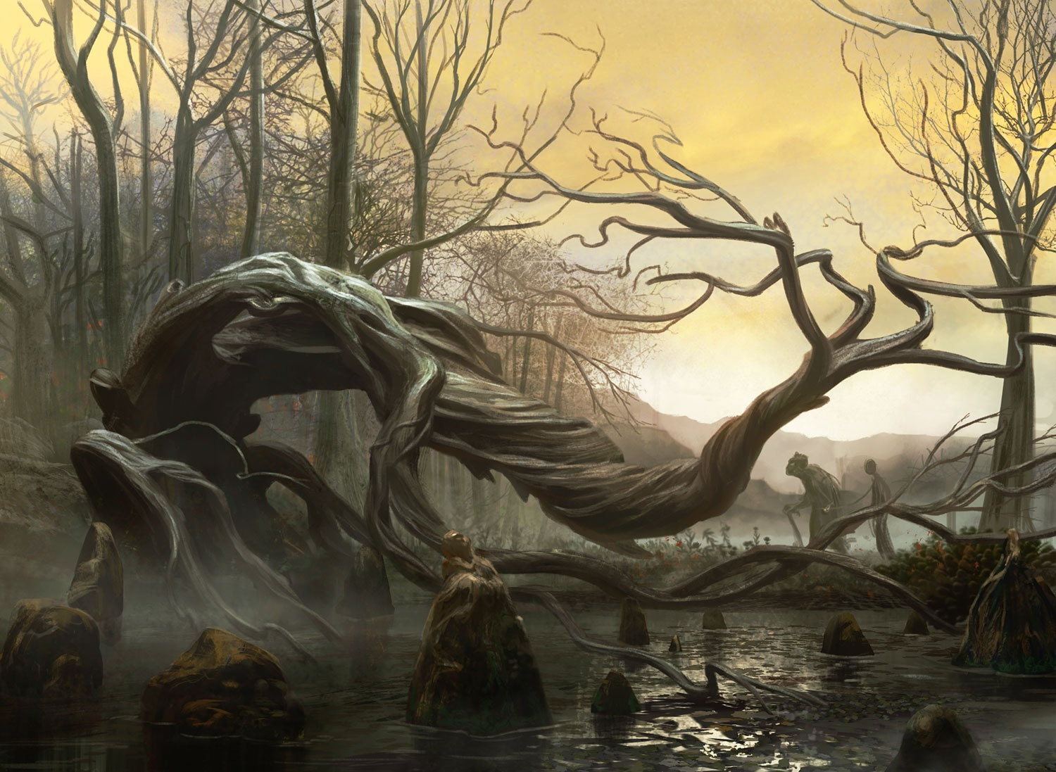 """Swamp"" Magic the Gathering"