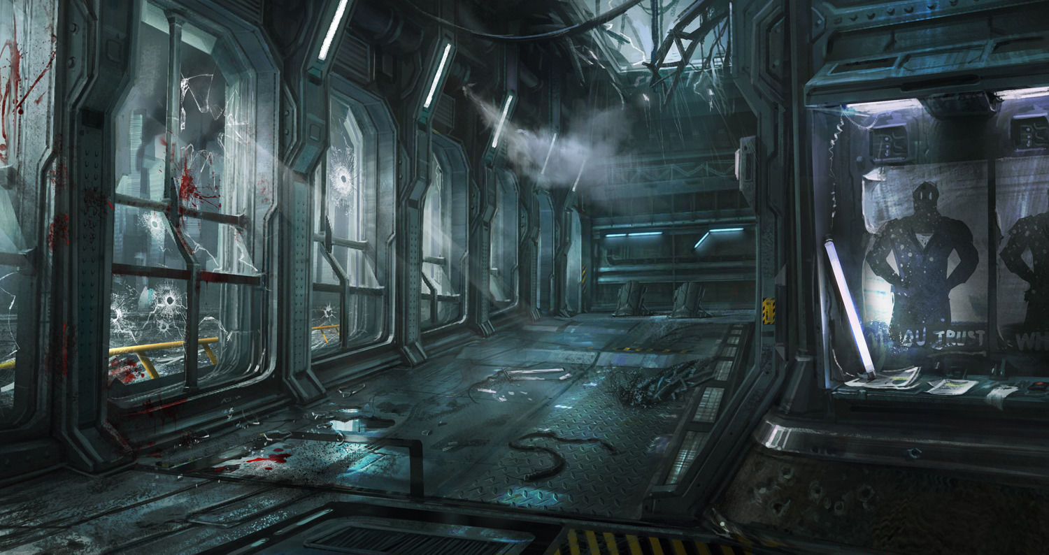 Concept art for THQ's canceled 'The Avengers' game