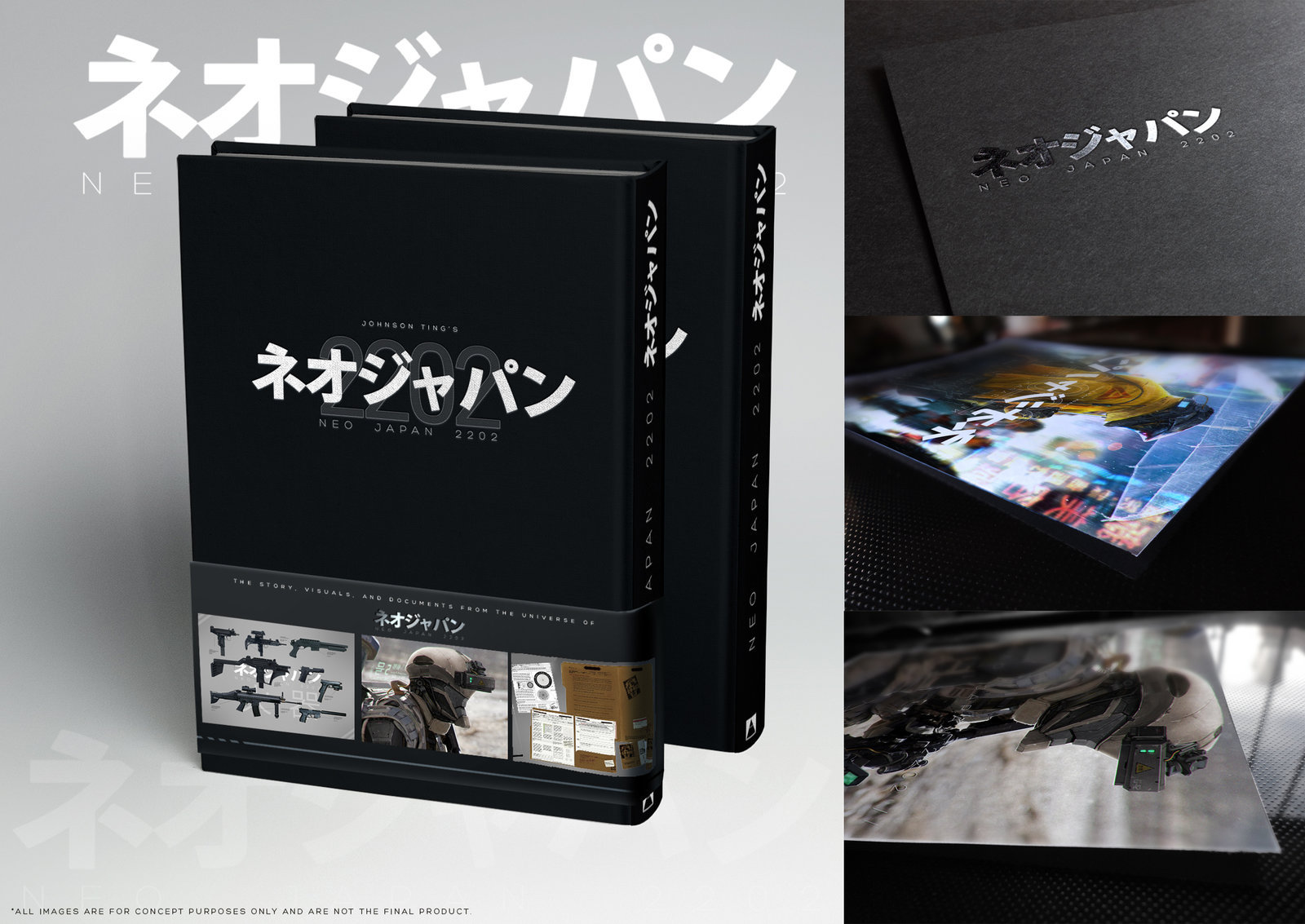 Neo Japan 2202 - Book concept