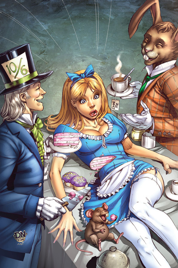 Mad hatter cover by david nakayama