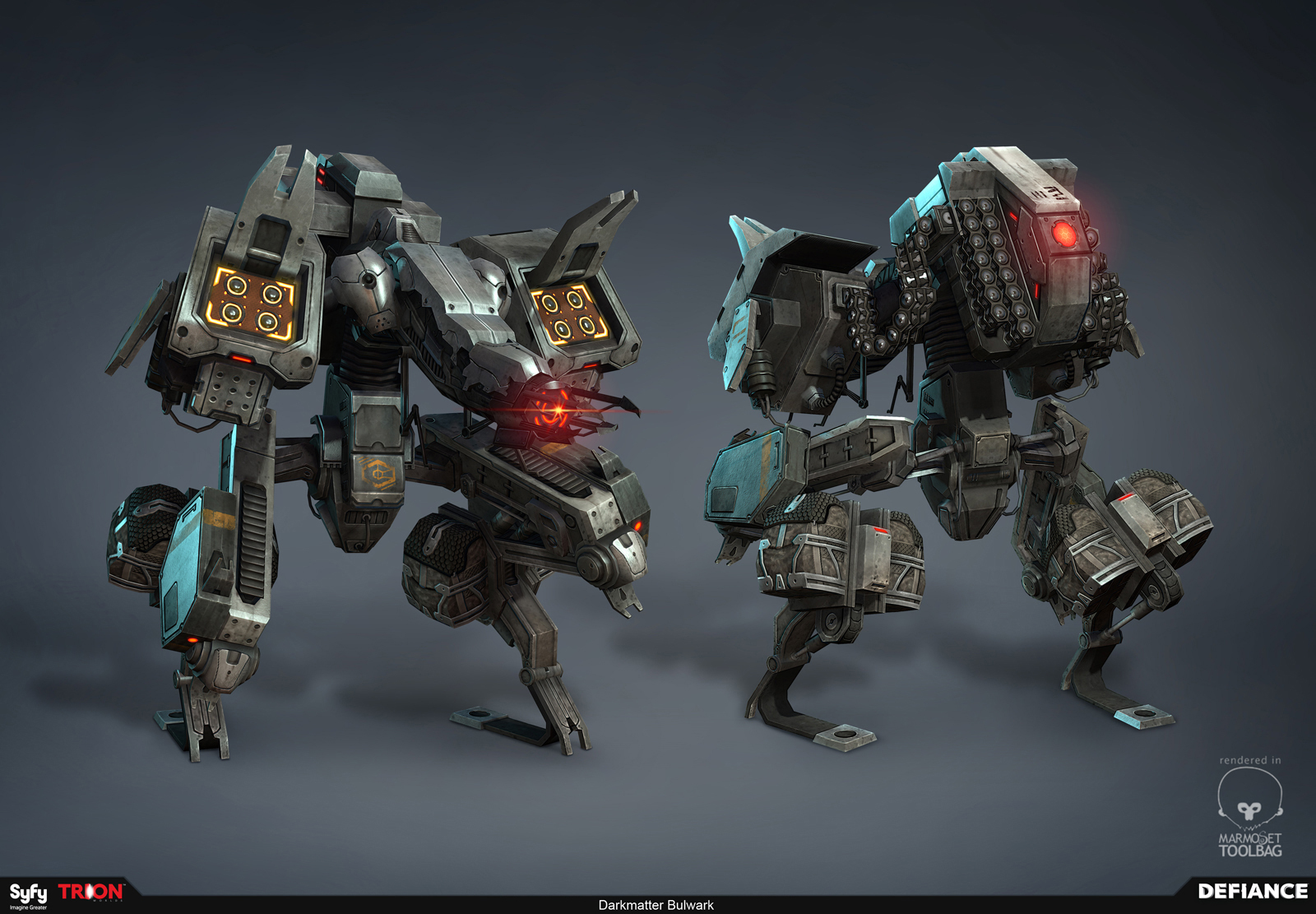 Defiance - Darkmatter Bulwark Mech