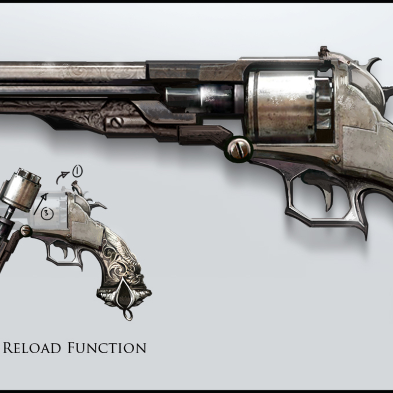 Assassin's Creed V Reclamation: Weapon Design