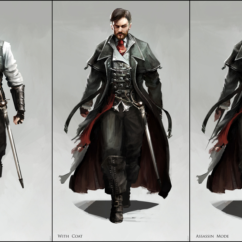 Assassin's Creed V Reclamation: Character Design