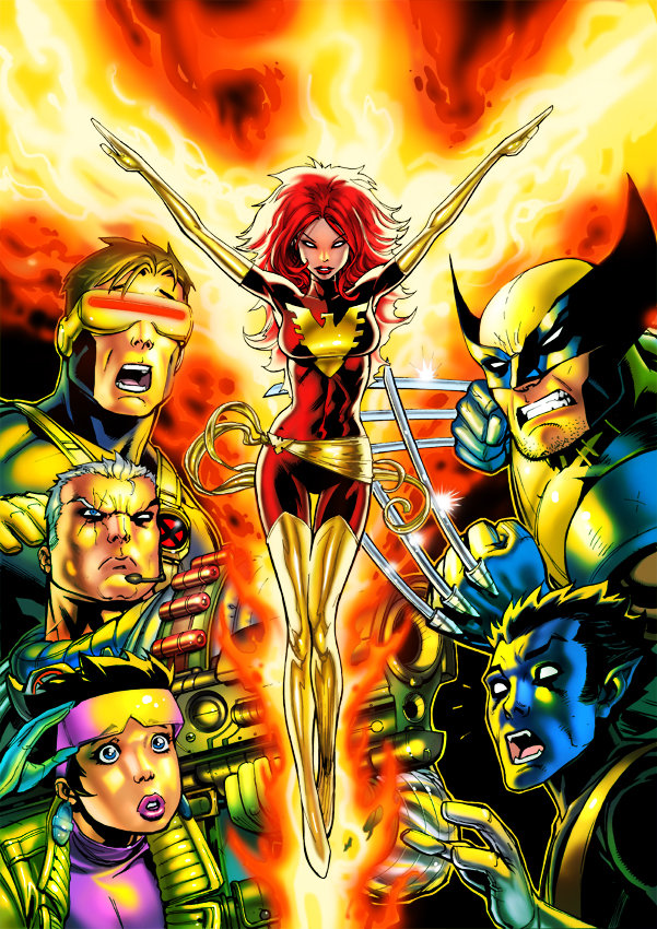 X men animated vol 2 box art by david nakayama