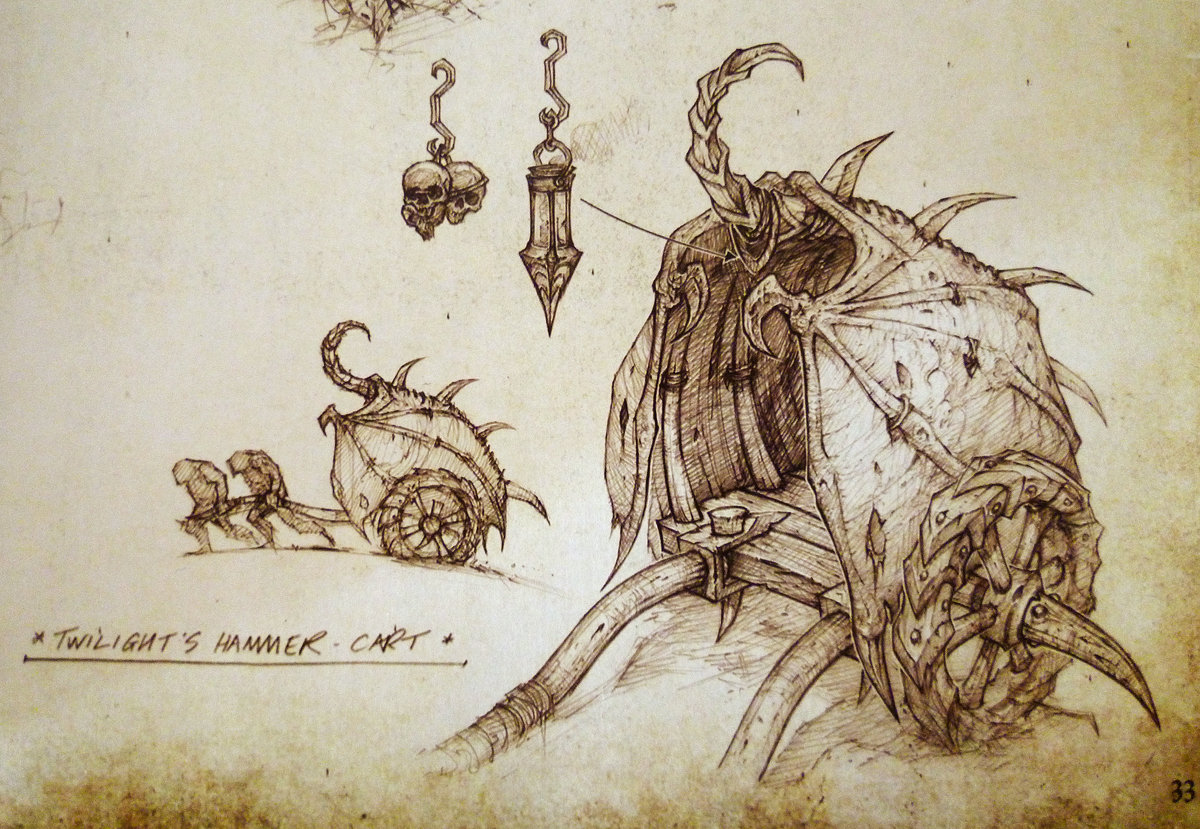 WOW Concept art by Mark Gibbons