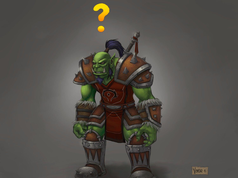 Artstation Warcraft Fanart 1 Orc John Venske