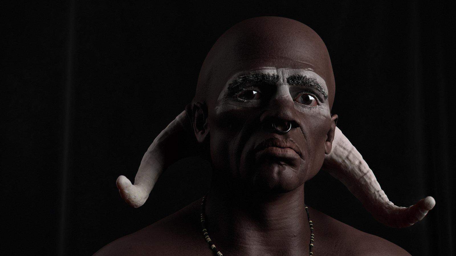 Afro minotaur mr pn pp