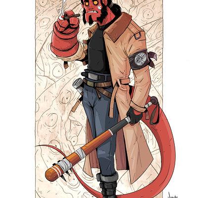 Hellboy cartoon16