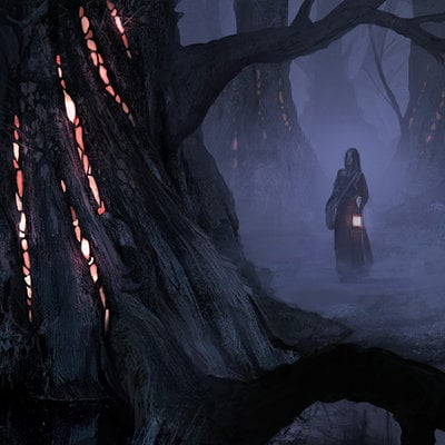 The cinder forest