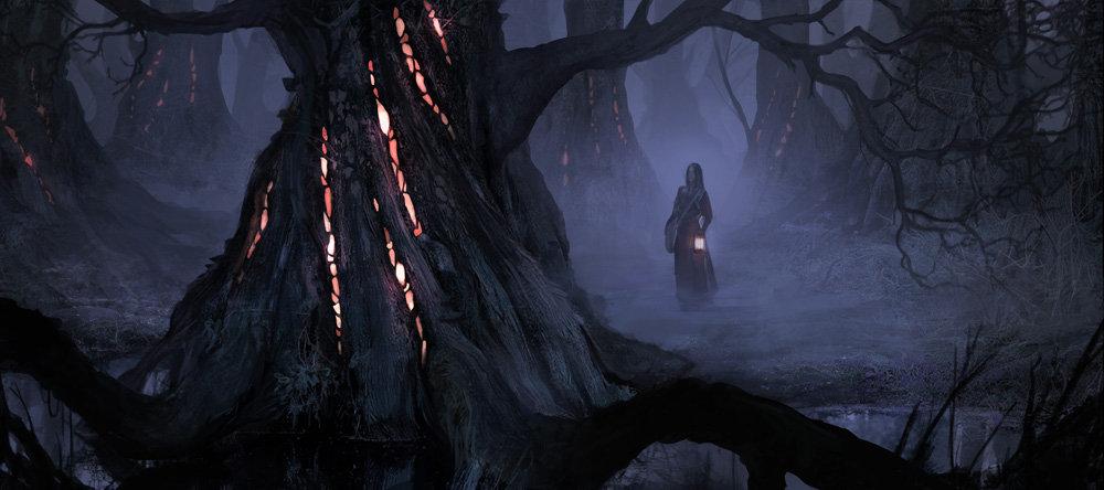 The cinder forest