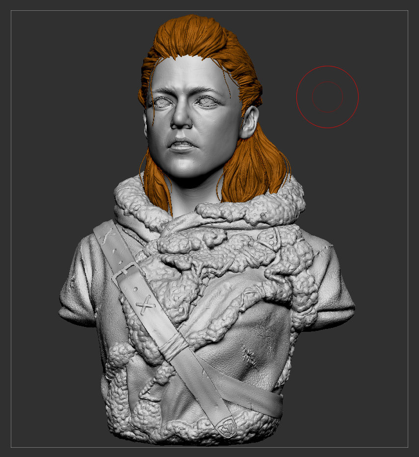 Game of Thrones Fanart - Ygritte Bust Sculpt