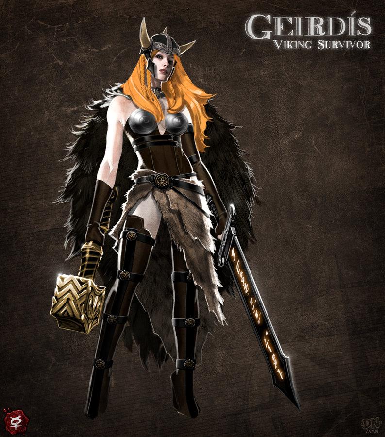 Geirdis by pixel saurus d62t8hs
