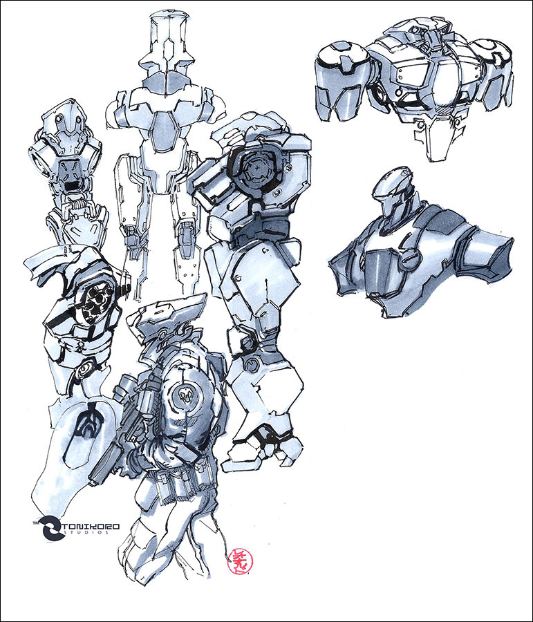 Mecha sketches 01142014 low