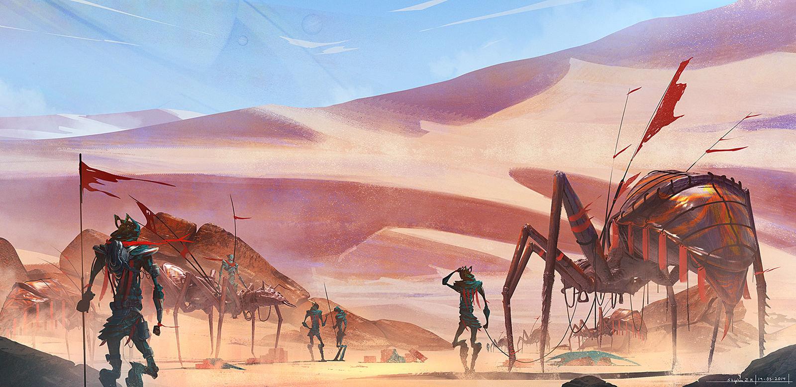 Ant desertcg