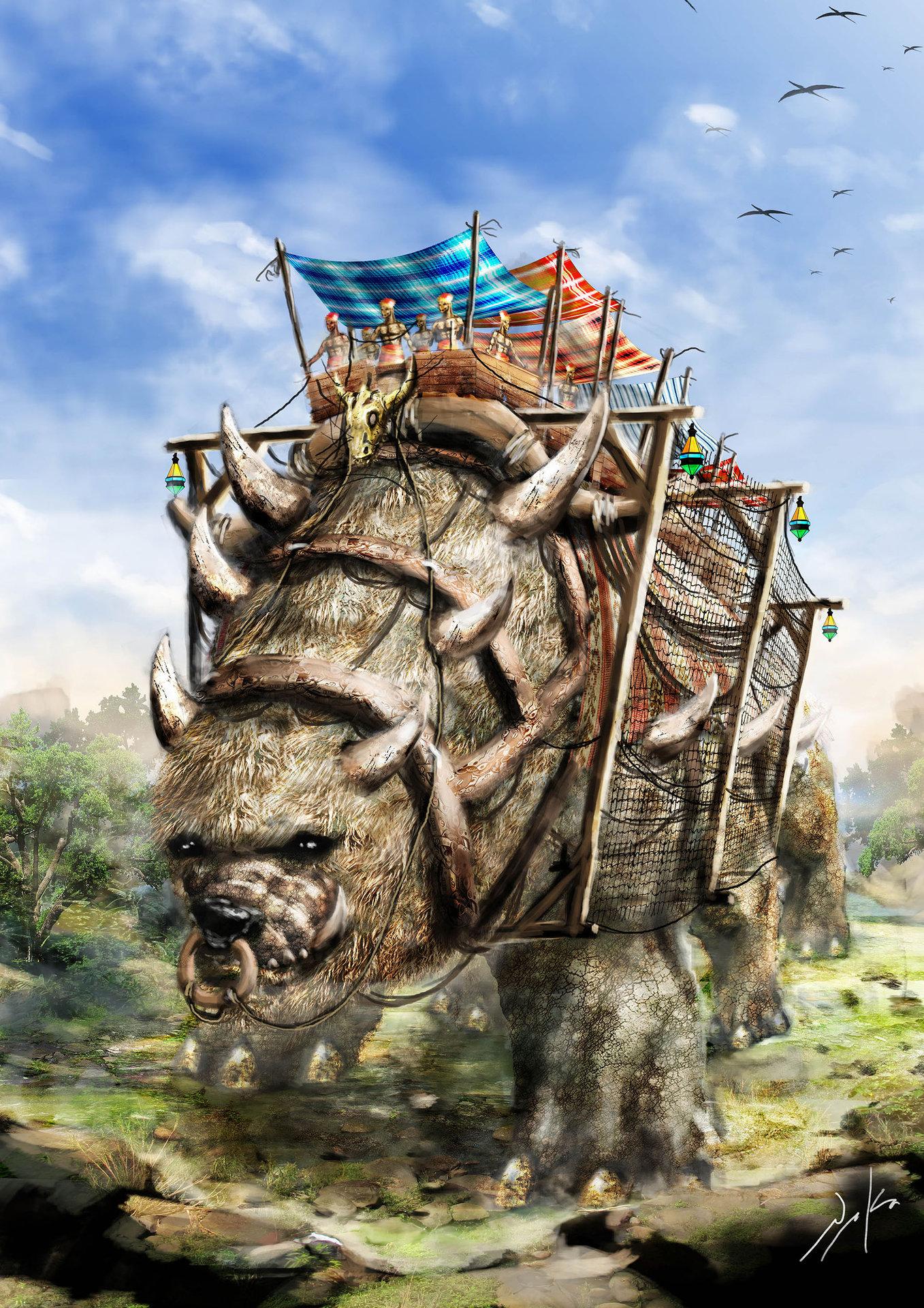 The Big Bus Beast