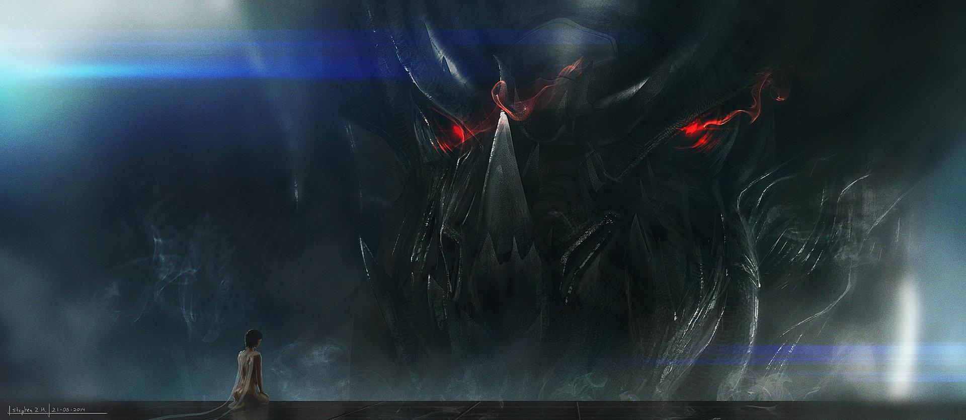Black god dragoncg2
