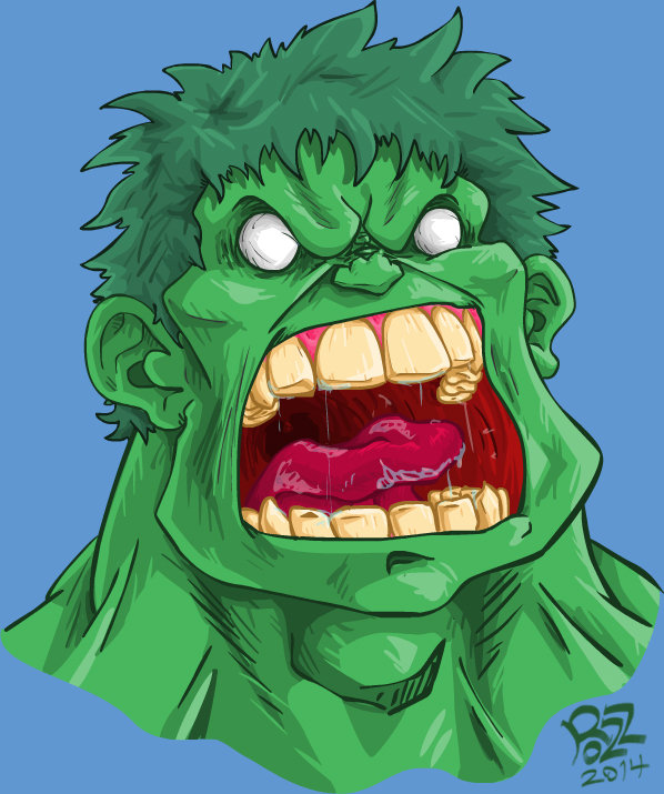 Outraged Hulk