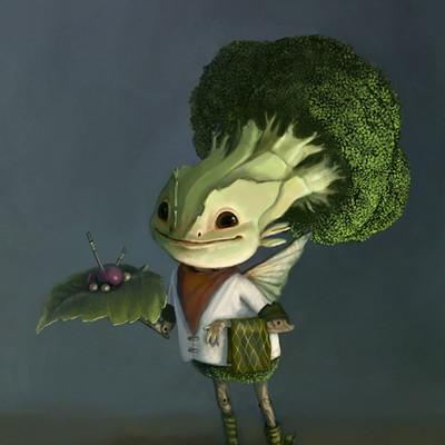 Broccoli fairy web