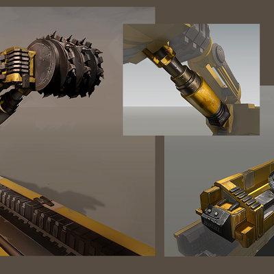 Bl2 longwall drill concept
