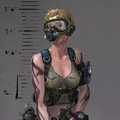 Rf char diver