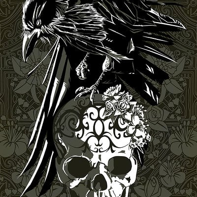 Nevermore giclee s