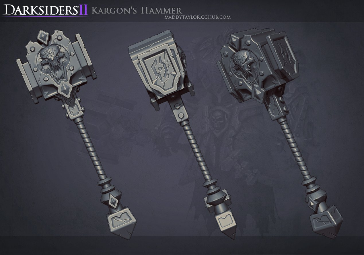 Ds2  kargon  s hammer by missmaddytaylor d5b9azn