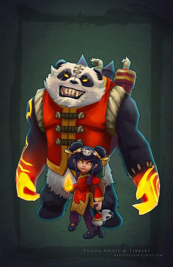Panda annie   tibbers by missmaddytaylor d5sgski