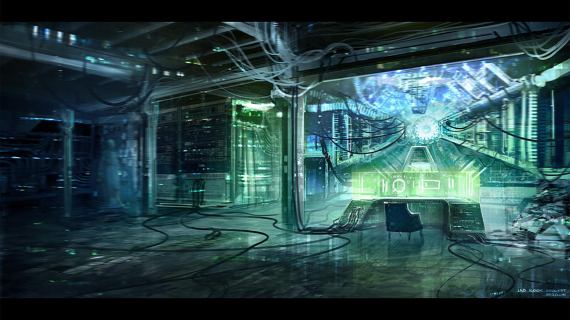 Mac Rebisz Another World Lab Concept